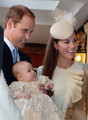 Prince George of Cambridge Christened in London - prince-william photo