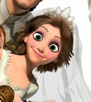 Rapunzel's celebration look