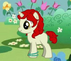 Rene as a My Little poni, pony