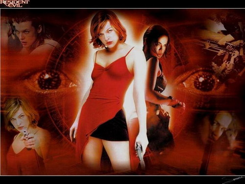 Resident Evil Movie wallpaper probably with a portrait entitled Resident Evil