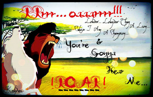 ディズニーのクロスオーバー作品 壁紙 with アニメ entitled Roar!