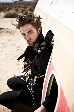 Robert Italian Vogue photoshoot outtakes