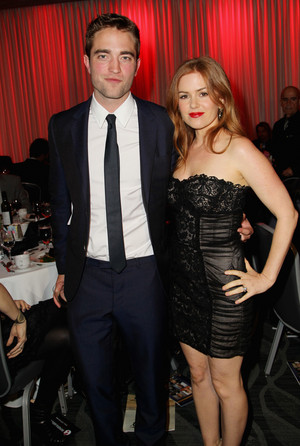 Robert and Isla Fisher at the Australians in Film Awards