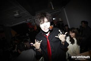 Rocker Taemin as Marilyn Manson