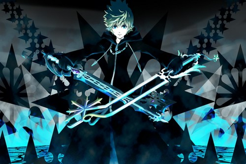 Kingdom Hearts wallpaper entitled Roxas