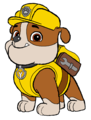 Rubble - Construction Pup - paw-patrol photo