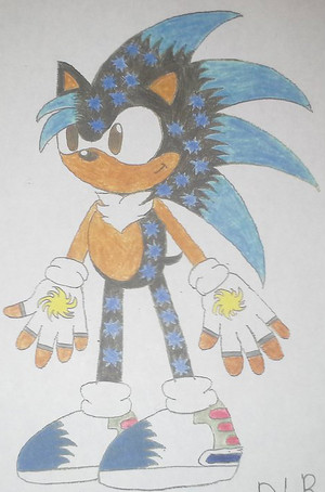 Sacred Neo the Hedgehog