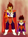 Saiyan's Royal Family - prince-vegeta fan art