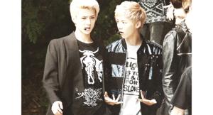 Sehun and Luhan