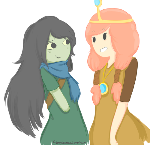 hora de aventura com finn e jake wallpaper titled Shoko and Princess Bubblegum