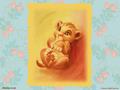 baby Simba - simba wallpaper