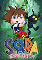 Sora the Explorer - kingdom-hearts fan art