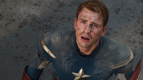 walang tiyak na layunin wolpeyper called Steve Rogers / Captain America Scene