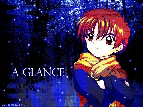 Kawaii Anime wallpaper possibly with anime called Syaoran in the snow