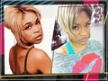 T-Boz & Drew Sidora - tlc-music photo