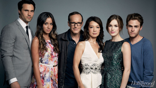 Agents of S.H.I.E.L.D. wallpaper containing a bridesmaid entitled THR's Exclusive Portraits