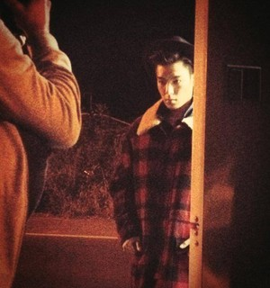 TOP's behind the scenes for 'W'!