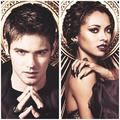 TVD Season 4 Promotional Shoot — Kat Graham & Steven R. McQueen