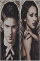 TVD Season 4 Promotional Shoot — Kat Graham & Steven R. McQueen - jeremy-and-bonnie fan art