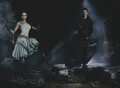 TVD Season 5 Promotional Shoot — Kat Graham & Steven R. McQueen