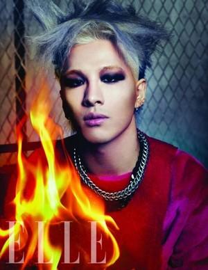 Taeyang for 'ELLE'