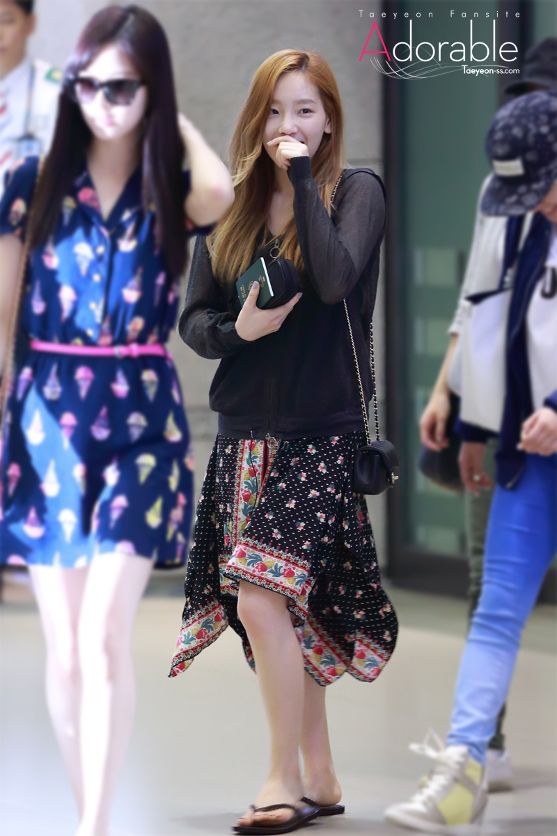 Taeyeon Airport - Girls Generation/SNSD Photo (35996887 ...