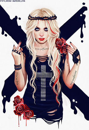 Taylor Momsen art
