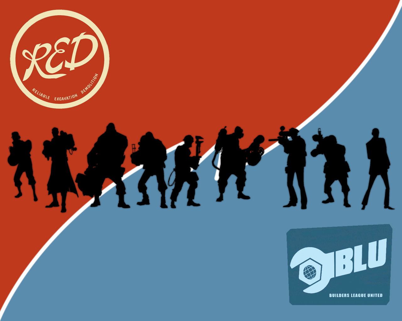 Team Fortress 2 RED vs BLU