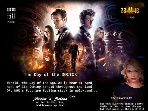 doctor who fondo de pantalla with anime called The día of the DOCTOR