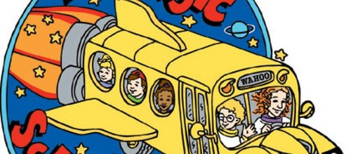 Memorable TV wallpaper with anime titled The Magic School Bus