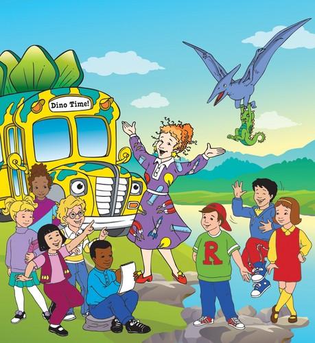 Memorable TV wallpaper containing anime called The Magic School Bus