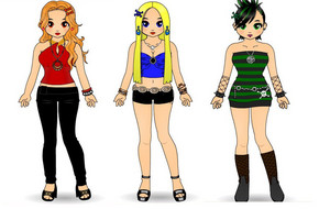 The PowerPunk Girls zwinky