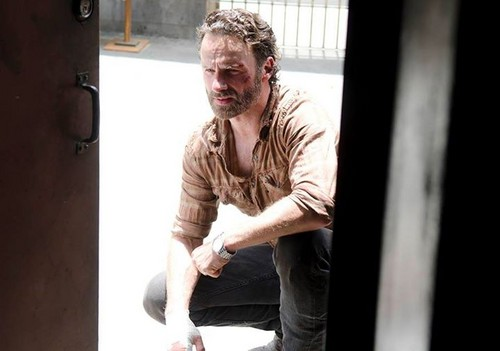 Andrew 링컨 바탕화면 titled The Walking Dead - 4x03