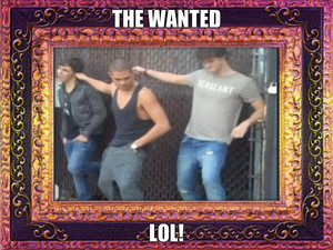 The Wanted LOL!