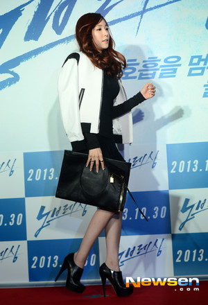 Tiffany-No Breathing Premiere