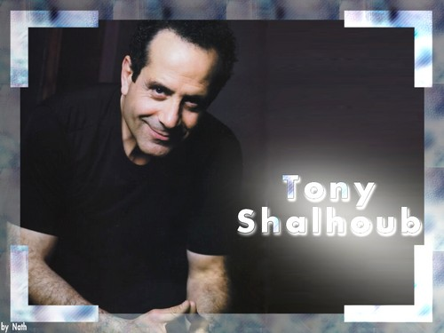 Tony Shalhoub দেওয়ালপত্র probably containing a sign titled Tony Shalhoub