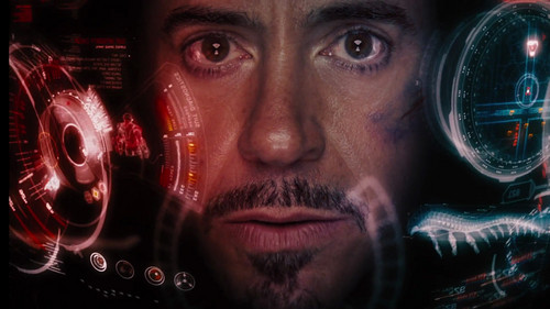 랜덤 바탕화면 entitled Tony Stark / Iron Man Scene
