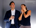 Tony/Ziva: 10x1 - Extreme Prejudice BTS stills - tiva photo