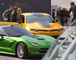 Transformers: Age of Extinction - Spy Shots