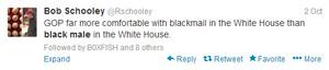 Tweet posté par Producer Bob Schooley