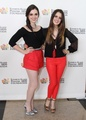 Vanessa & Laura at A Time For Heroes event  - laura-marano-ally photo