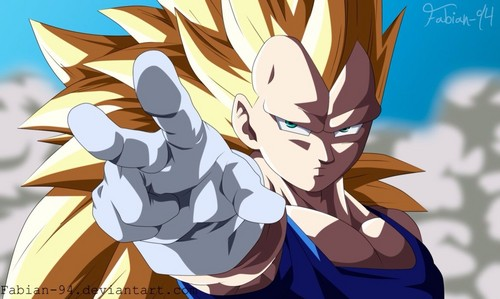 Dragon Ball Z wallpaper called Vegeta SSJ3