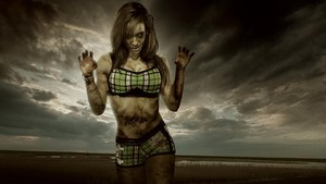 wwe Zombie:The Ring of the Living Dead - AJ Lee
