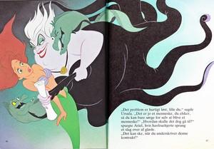 Walt Disney Book Images - Flotsam, Princess Ariel, Ursula & Jetsam