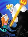 Walt Disney Book images - King Triton & Ursula