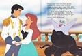 Walt Disney Book Images - Prince Eric, Princess Ariel & Ursula