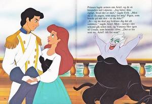 Walt Disney Book hình ảnh - Prince Eric, Princess Ariel & Ursula