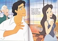 Walt Disney Book Images - Sir Grimsby, Prince Eric & Vanessa