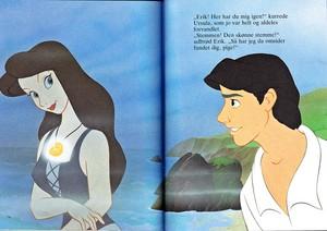 Walt disney Book imagens - Vanessa & Prince Eric