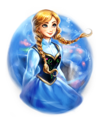 Walt Disney Fan Art - Princess Anna - walt-disney-characters fan art